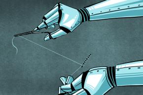 Autonomous Robot Surgeon Outperforms Human Surgeon
