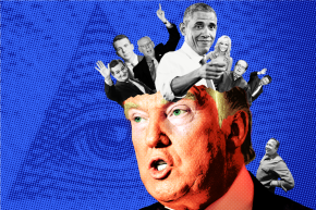 How Trump's Love Of Internet Conspiracy Theories Fueled His Rise