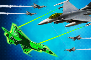 Fighter Jets And Drones Will Soon Be Armed With Lasers