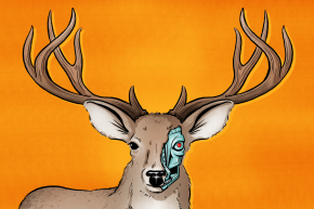 The M&M-Pooping Deer Robots That Are Fooling Poachers