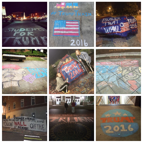 #Chalkening photos from Instagram and Twitter