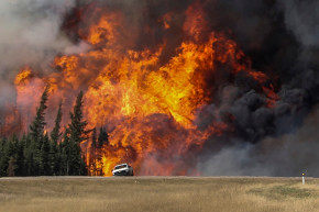 A 1400-Mile Road Trip For The Victims Of Alberta's Massive Blaze