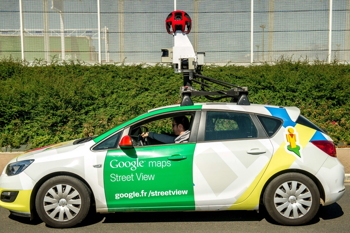 philadelphia surveillance van goes undercover as google maps car vocativ. Black Bedroom Furniture Sets. Home Design Ideas