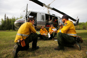 How Drones Can Help—Or Hurt—Efforts To Fight Alberta Blaze