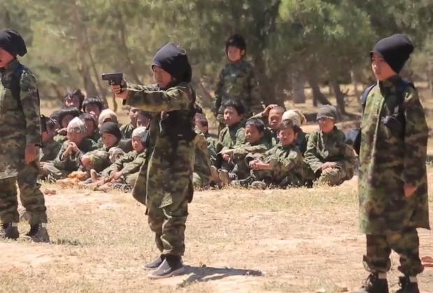 ISIS boys pistols