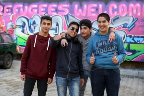 Syrians In Germany Find Humor In Their Displacement