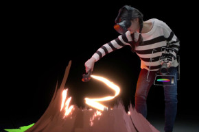 Paint With Fire Using This Virtual Reality App