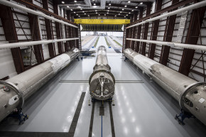 SpaceX's Rocket Garage Is Almost Full