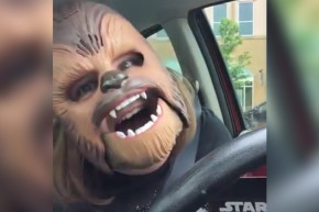 Fan's Viral Video Causes Every Store To Sell Out Of Chewbacca Masks