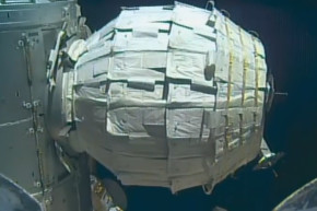 Watch NASA Blow Up An Inflatable Space Station Module