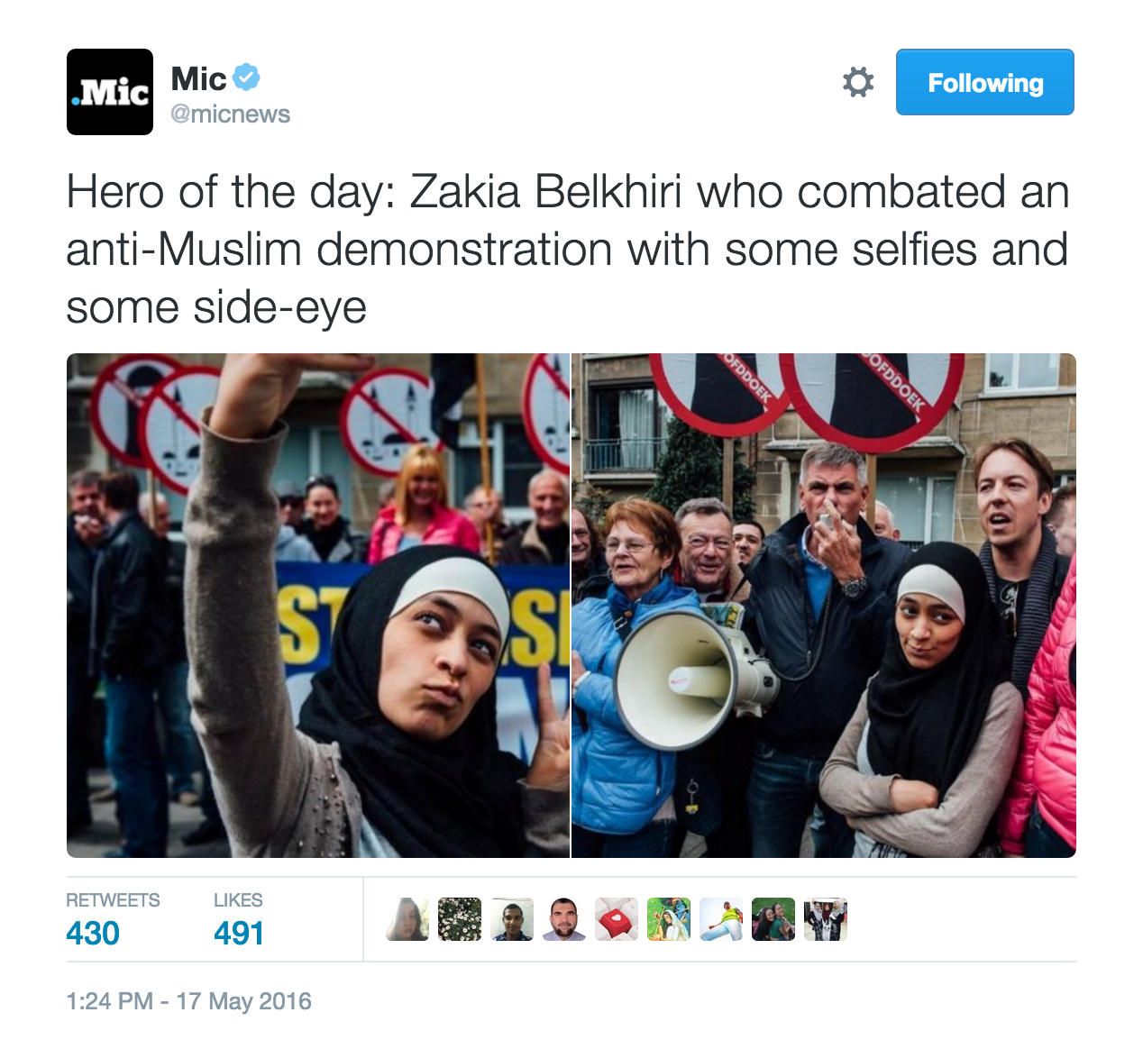 Zakia Belkhiri Muslim Anti Semite