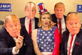New Donald Trump Porn Is A Gang Bang With A Side Of Politics