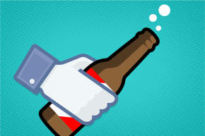 Social Media Could Be Driving You To Drink