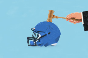 How Lawsuits Killed Football Helmet Technology