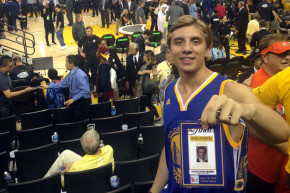 Meet The Kid Who Snuck His Way Into Game 7 With A Fake Press Pass