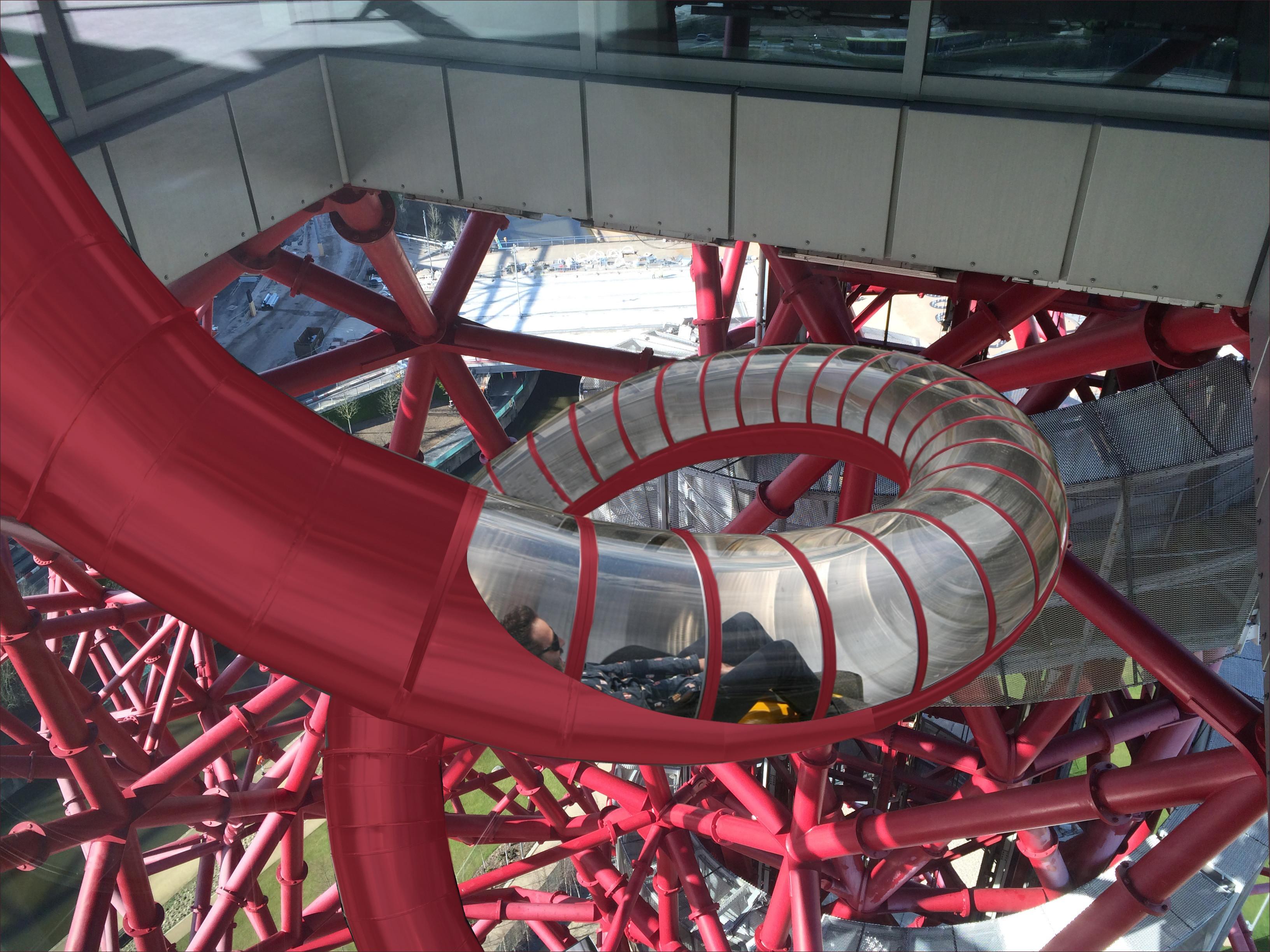 Top of slide_ArcelorMittal Orbit