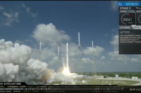 SpaceX Launches Two Satellites But Crashes Rocket