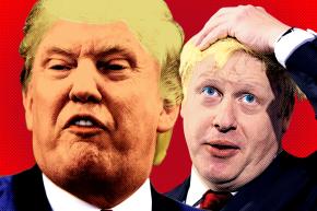Trump And Boris Race To Insult The Entire Globe