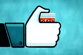 Researchers Think Facebook Could Help Prevent Opioid Abuse