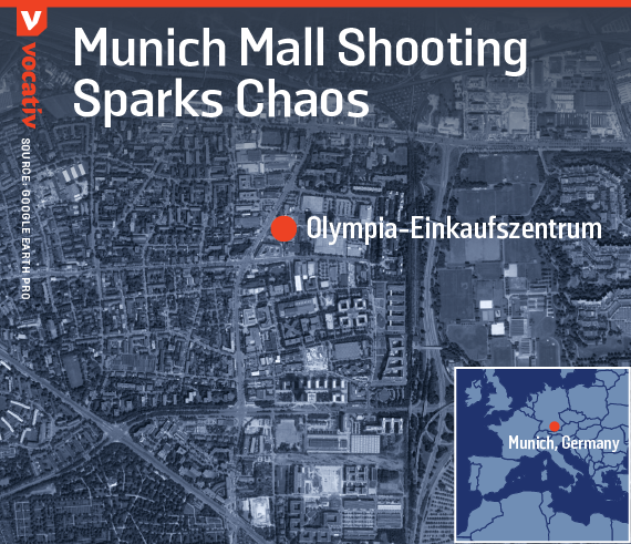 Munich mall shooting sparks chaos