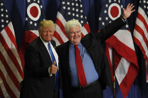 Trump-Gingrich Would Be Oldest Ticket In History