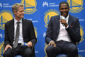 The Warriors Wooed Kevin Durant With Virtual Reality