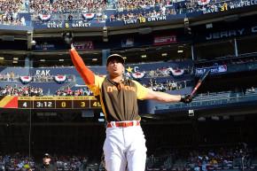 Giancarlo Stanton Hit Baseballs 6.4 Miles On Monday