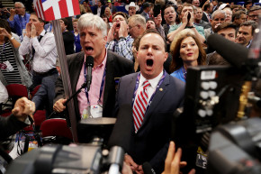 'Never Trump' Delegates Turn RNC Into Big Screaming Match