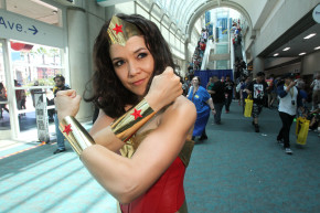 Wonder Woman Steals The Show During Comic-Con
