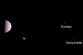 NASA's Juno Sends First View As It Orbits Jupiter