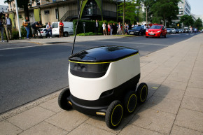 Self-Driving Robots Are About To Start Delivering Lunch