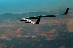The Huge Solar-Powered Facebook Drone Takes Flight