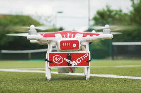 Drone-ovic, The Tennis Drone, Is At Your Service