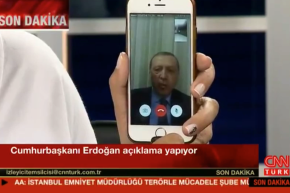 Turkey's President Conducts Interview Via FaceTime