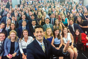Paul Ryan's Super White Selfie Earns Him An Internet Roast