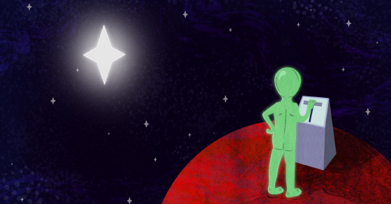 Aliens May Be Manipulating A Distant Star (No, Really Though)