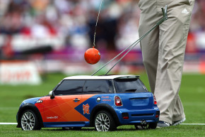 Finally, A Cool And Good Olympics Thing: Toy Cars!