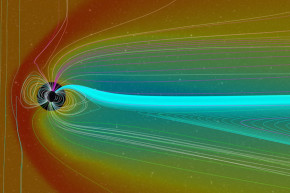 What Earth's Largest Geomagnetic Storm Of The Century Looked Like