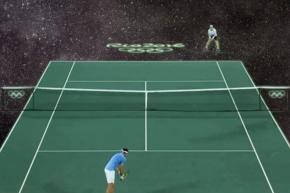 The Best New Olympics Meme Is Tennis Green Screens, Trust Us