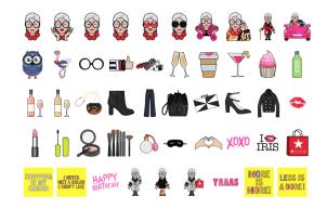 Iris Apfel Now Has Her Own Line Of Emoji