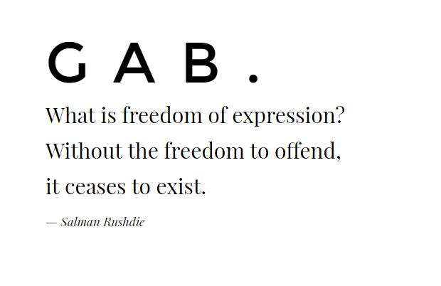 gab screen