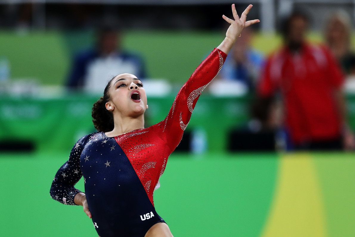 Laurie Hernandez Is The Surprise Breakout Star Of Team USA Gymnastics - Vocativ