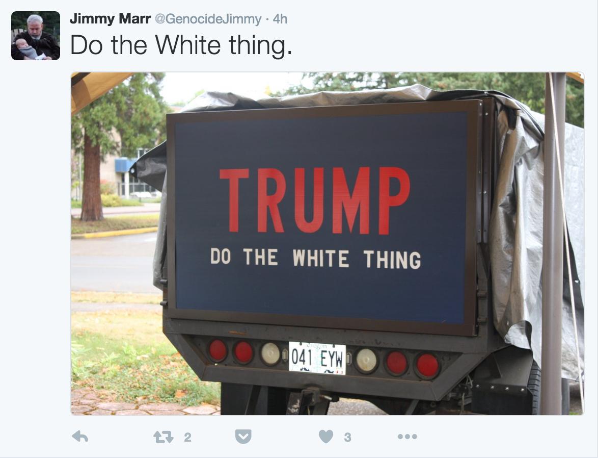 Jimmy Marr Nazi Trump 2