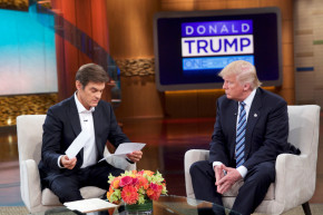 We Fact-Checked Donald Trump On The Dr. Oz Show