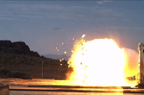 NASA Films Rocket Booster In Slow-mo