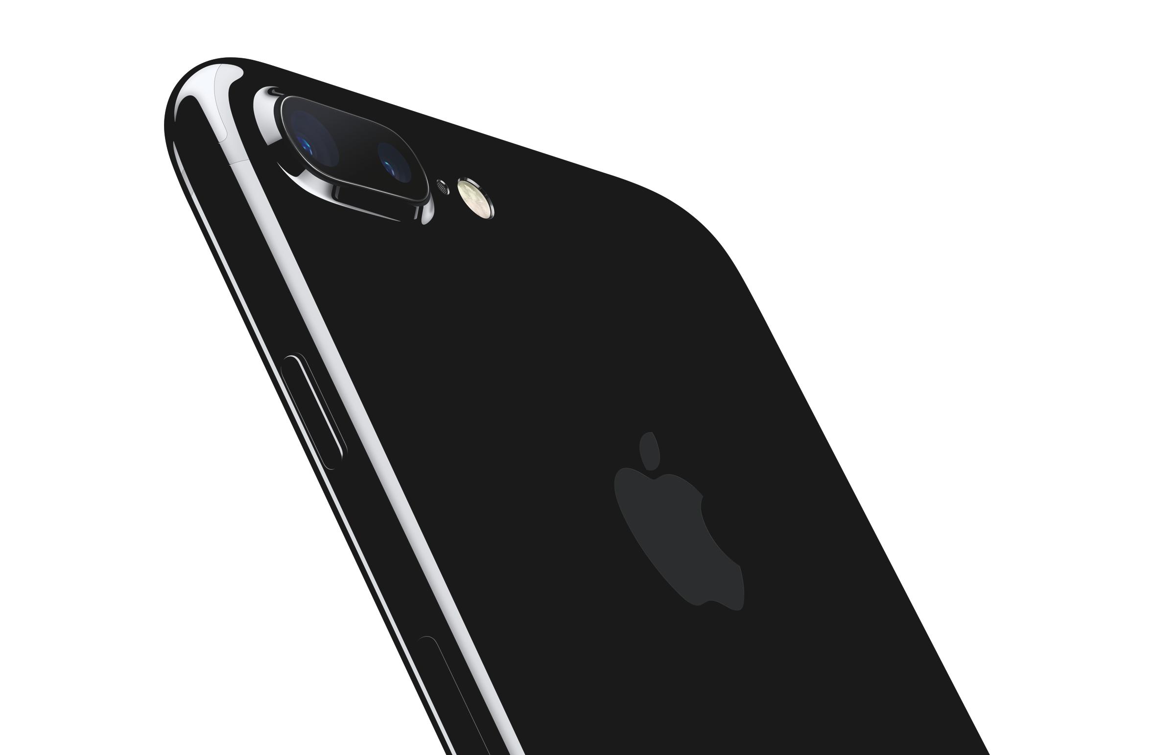 iPhone7Plus JetBlk 34BR LeanForward_PR PRINT