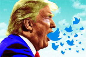 Donald Trump's Tweets Upstaged The VP Debate