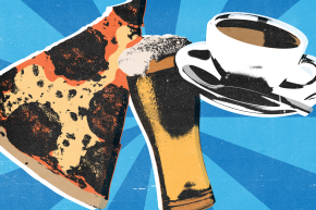 Coffee, Beer, And Pizza Are America's Most Tweeted Foods