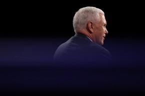 As Rumors Swirl, Pence Tweets He's Standing By Trump