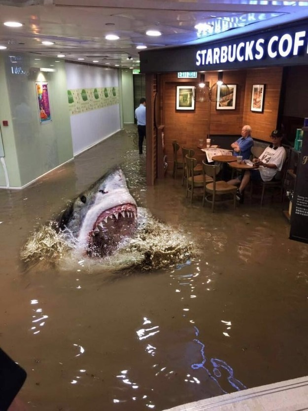 starbucks uncle jaws